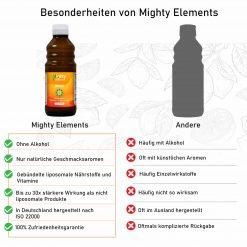 Besonderheiten von Mighty Elements