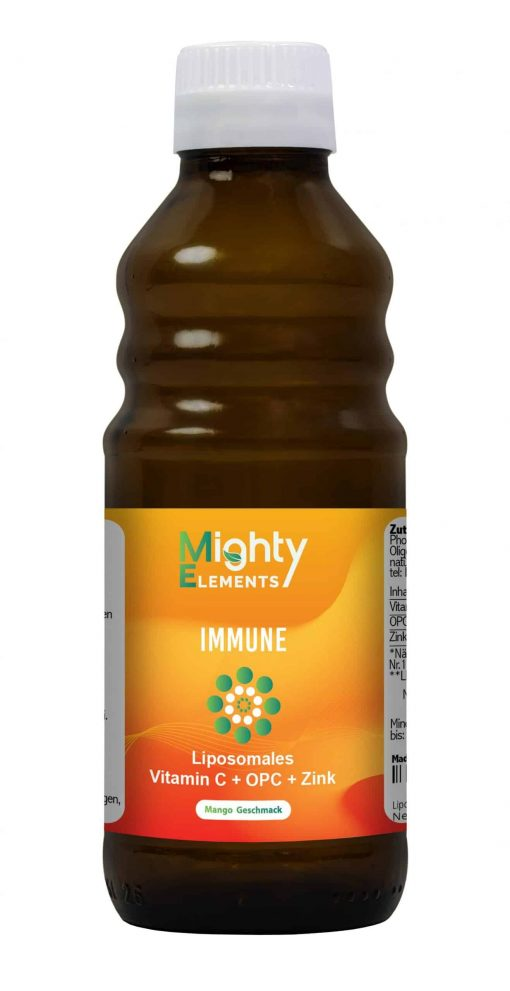 Mighty Elements Immune Vorne
