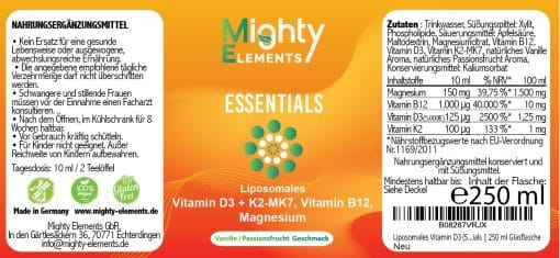 Mighty Elements Label Essentials