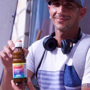 """Dario: """"Ich benutze schon einige Jahre liposomale Produkte, aber bei Mighty Elements ist der Geschmack am Besten"""""""