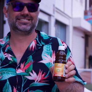 """Heinz: """"Ich bin von Kapseln auf liposomale Produkte von Mighty Elements umgestiegen und fühle mich einfach nur viel besser. Der Unterschied ist riesengroß und die Produkte sind jeden Cent wert."""""""